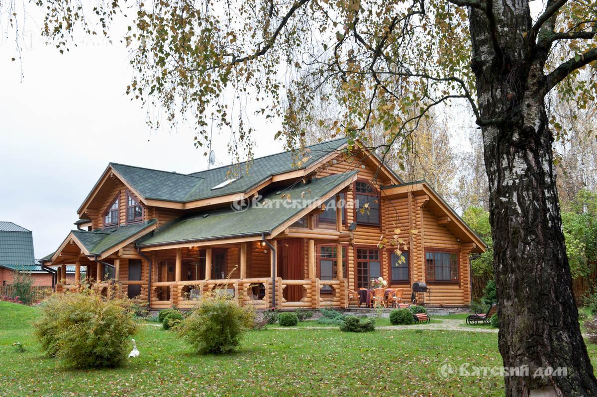 Строительство домов из бруса в